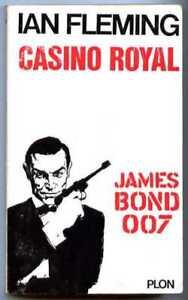 JAMES BOND 007 Casino Royal / Ian Fleming / Plon 1965