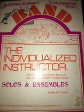 Band Flute Music Book Solos Ensembles Individualized Instructor Supplementary