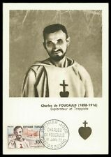 FRANCE MK 1959 FOUCAULD KREUZRITTER TEMPLER CRUSADER MAXIMUM CARD MC CM an22