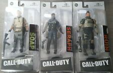 """Call of Duty Seraph, Soap And Ruin 7"""" Action Figure McFarlane Toys Set of 3"""
