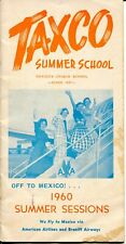 Taxco Mexico Summer School Sessions Brochure 1960