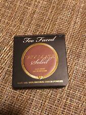 Too Faced Chocolate Soleil Long-wear Matte Bronzer 2.3 g