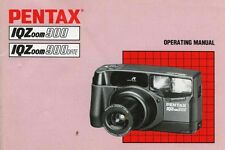 179821 PENTAX IQZOOM 900/900 DATE GENUINE INSTRUCTION MANUAL