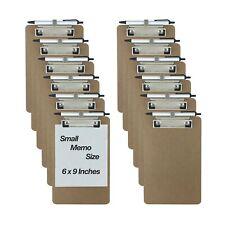 Trade Quest Flexible Pens Pencils Holders Memo Clipboards Memo Size 6x9 12pk