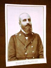 Vice Ammiraglio Borea Ricci d'Olmo nel 1911 1° Governatore d'Italia a Tripoli