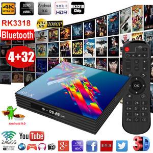 A95X R3 Android 9.0 4+32GB 4K TV BOX Dual WIFI BT Quad Core HDMI Media Streamer