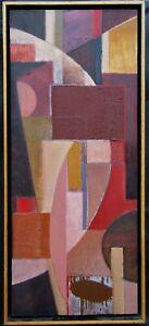 ATT. Manuel Felguerez (1928-2020) Large Abstract Oil Painting NO RESERVE