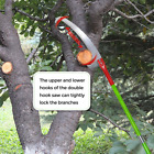 Best Tree Trimmers - 26Foot Tree Trimmer Pole Manual Pruner Cutter Set Review