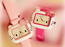 Faux Leather Band Women's Cartoon/Novelty Polished Watches