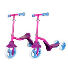 Swagtron K2 2 en 1 3 Rueda Scooter & Tractor saldo Trike para del niño Niños Rosa