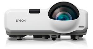 Epson 435W 3LCDProjector HDMI. Zero Lamp Hours +Remote