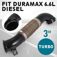 3 Turbo Downpipe 15.5-16 GM Fit Chevy GMC 6.6L 6.6 LML Duramax Diesel