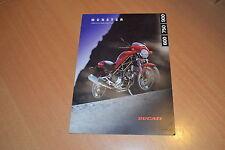 DEPLIANT Ducati Monster