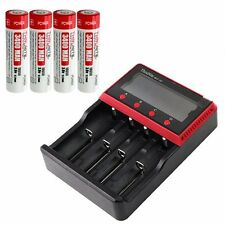 Thrunite MCC-4s Charger and four T3400 18650 Li-ion  3.7V Battery Cells