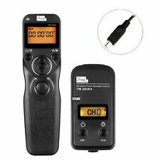 PIXEL Wireless Timer Remote Control For Nikon D7200 D5500 D750 D600 MC-DC2