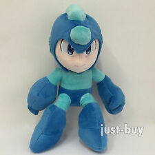 Rockman Rock Mega Man Plush Soft Toy Stuffed Animal Character Doll Teddy 11""