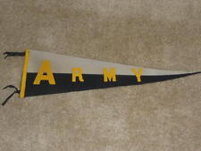 VINTAGE 1930'S ARMY FOOTBALL PENNANT SEWN ON LETTERS