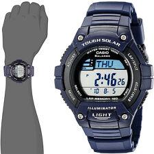 Casio WS-220-2AV Tough SOLAR Watch 120-Lap Memory Stopwatch Sports Brand New