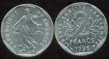 2 francs 1996  NICKEL  semeuse ( bis )
