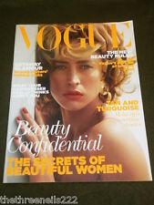 VOGUE UK SUPPLEMENT SECRETS OF BEAUTIFUL WOMEN 2011