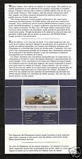 CANADA, # CN-5 WILDLIFE CONSERVATION STAMP BOOKLET 1989, SNOW GOOSE