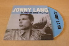 JONNY LANG - FRENCH PROMO CD WANDER THIS WORLD !!!!!!!