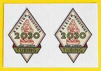 Raleigh 1950's Vintage style '2030 TUBING' Cycle Stickers decals SPORTS TOURIST