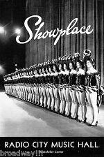 "John Raitt ""PAJAMA GAME"" Doris Day 1957 Radio City Music Hall Program"
