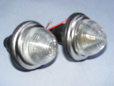 Mk 1/2/3/4 CLASSIC MINI FRONT INDICATOR LAMPS.(CLEAR LENS)