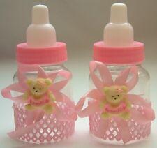 Babyflaschen Bär 12 St. Gastgeschenk Taufe  Babyparty Tischdeko