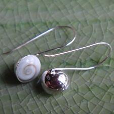 Shiva Eye Earring Sterling Silver cool