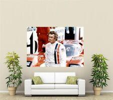 Steve McQueen Le Mans Giant 1 Piece Wall Art Poster TVF150