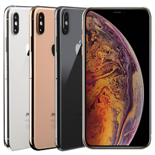 Apple iPhone XS Max - 64GB-Plateado (Desbloqueado de fábrica) disponible B