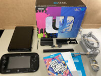 Nintendo Wii U Video Game Console System + Gamepad, Box, Dance Game Awesome L@@K