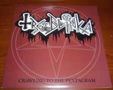 TREBLINKA Crawling to the Pentagram RED LP Tiamat morbid angel Deicide Samael