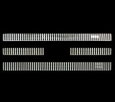 Fits 2007-2013 Ford Expedition 8mm 7pc Vertical Bars OverLay Billet Grille