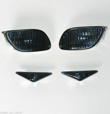 FORD FOCUS MK1 1998-2001 Front & Side Indicators Reapeters Smoked Set E-Approved