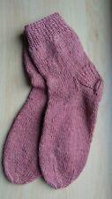 Handmade 100% Organic lambswool mens socks 8  BRAND NEW