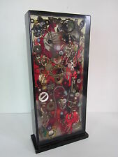 "ARTHUR SECUNDA 14"" Clear Plastic Resin Block Mixed Media Sculpture Found Objects"