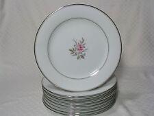 9 Noritake Roanne Dinner Plates 5794