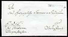 Immendorf 1838 vorphilabrief après Braunschweig (c1245
