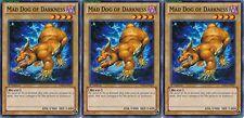 Mad Dog of Darkness X 3 1st Mint YSKR-EN009 yugioh