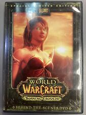 World of WarCraft Burning Crusade Special Limited Edition Behind The Scenes DVD