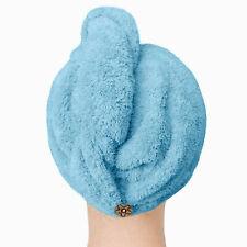 LONG MICROFIBRE TURBIE WRAP TWIST/HAIR DRYING TOWEL/TURBAN -SHOWER/BATH WOMEN US