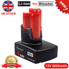 12V 6.0Ah Replacement Battery For Milwaukee M12 12Volt Li-ion Battery M12 6B