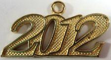 NEW 2012 Gold Tone Graduation Tassel Charm for Cap or Chain