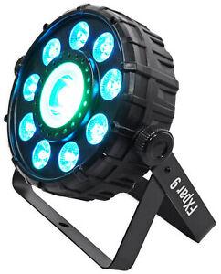 Chauvet DJ FX Par 9 Compact DMX Multi-Effect LED, SMD RGB+UV Strobe Par Light