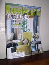 House Beautiful -  February 2004 - Simple Elegance the Best in West Coast Decor