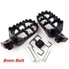 Motocross Foot Pegs Footrest For Honda CR CRF XR 50 70 80 100 Yamaha Kawasaki