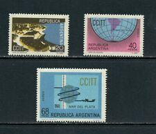 V230  Argentina  1968   telecoms  3v.     MNH